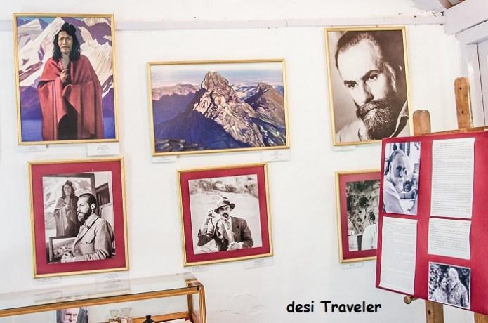 art work by nicholas rorerich in naggar
