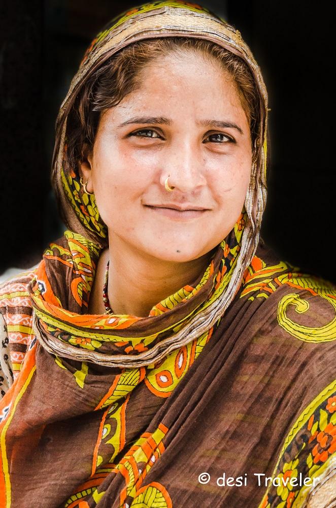 portrait of Banjara Woman India