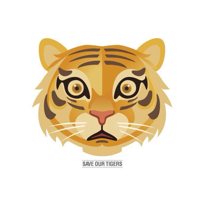tiger sticker aircel