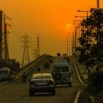 Sunset in Gurgaon
