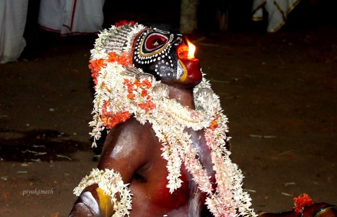 Fire Dancer ghost worship India