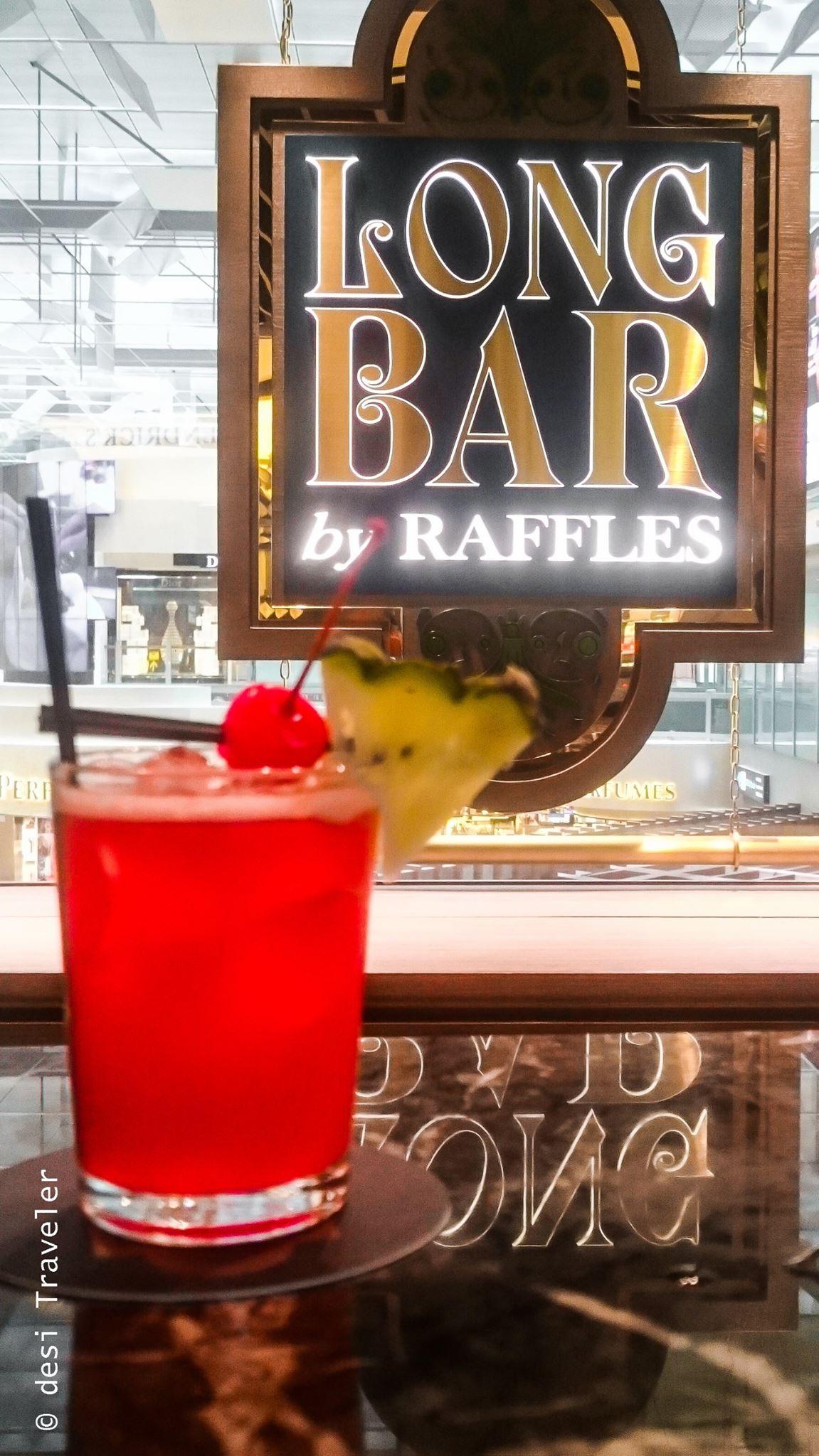 Raffles Long Bar Changi Singapore Sling recipe