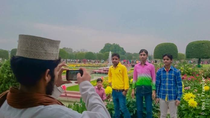 Mughal Gardens Photography