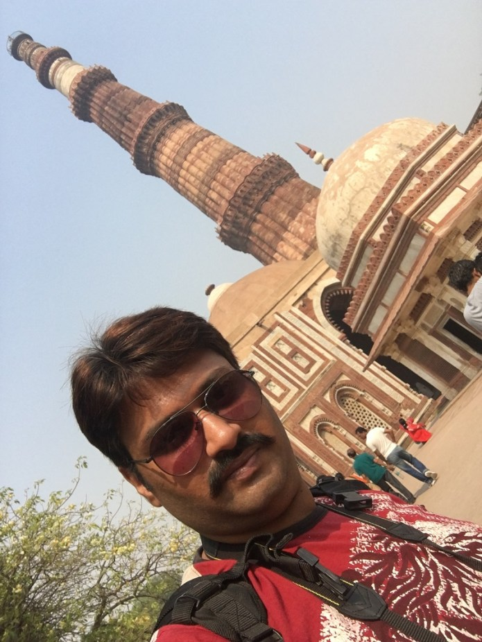 iphone selfe qutub minar IMG_0951