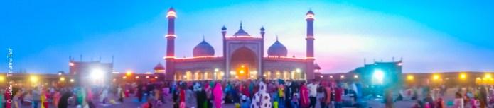 Jama Masjid Delhi during Ramazan