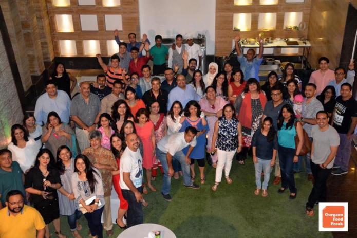 Gurgaon Food freaks charity event