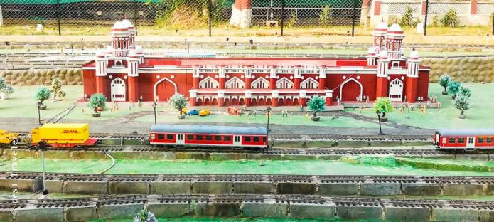 National Rail Museum - Model station of Lucknow