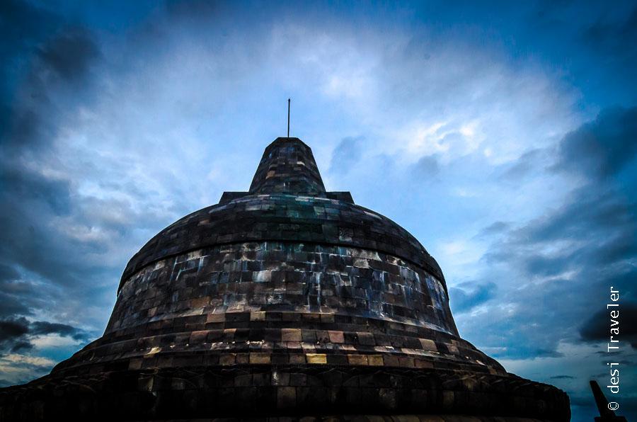 Central Dome Borobudur Temple