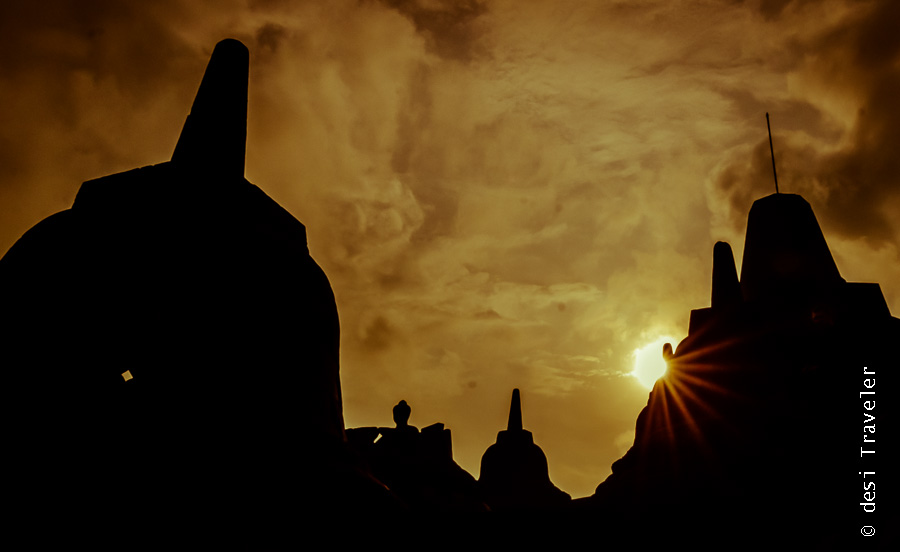 Buddha Statue Borobudur Temple