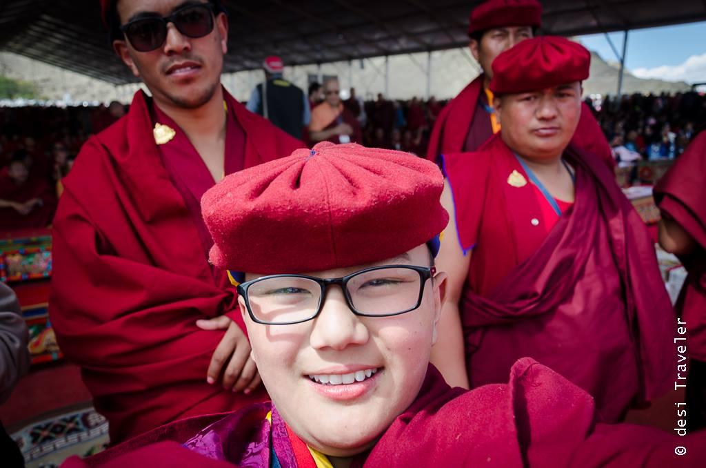 Young monk Hemis Leh