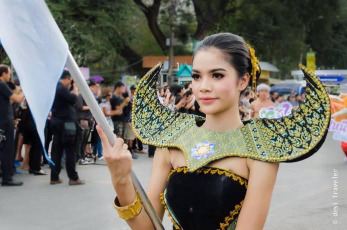 Thailand Tourism Festival opening Parade dancer