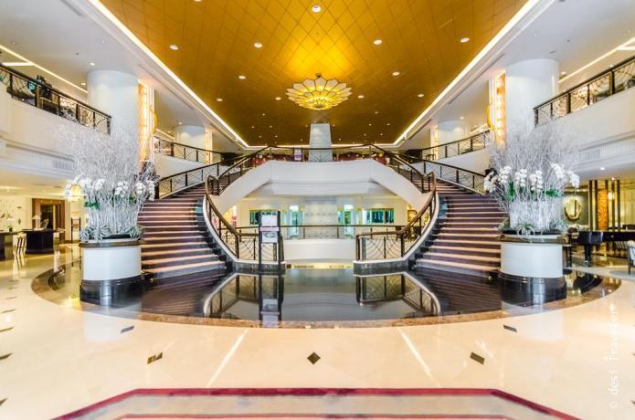 Lobby Plaza Athenee Bangkok