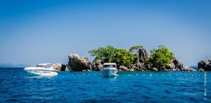Snorkeling Ko Wai Koh Chang Thailand