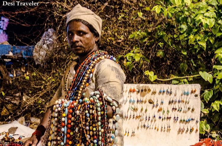 flea market vendor in puducherry india