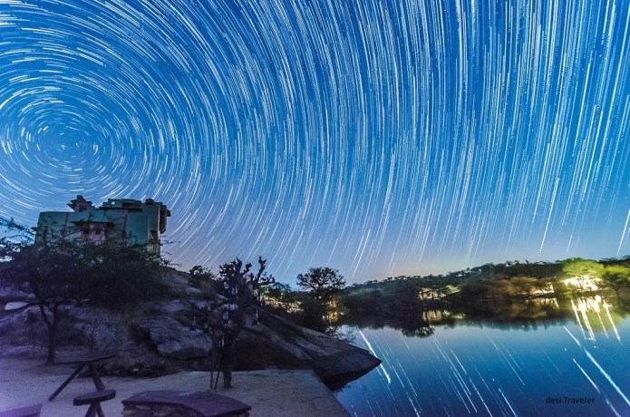 How to click perfect circular star trails