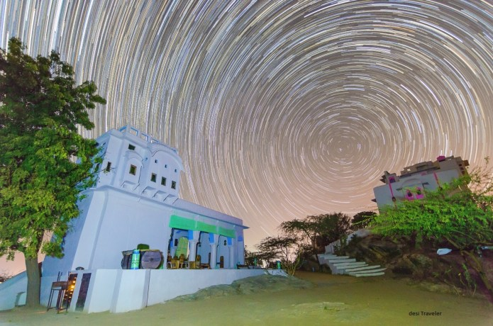 How to get perfect star trail circles