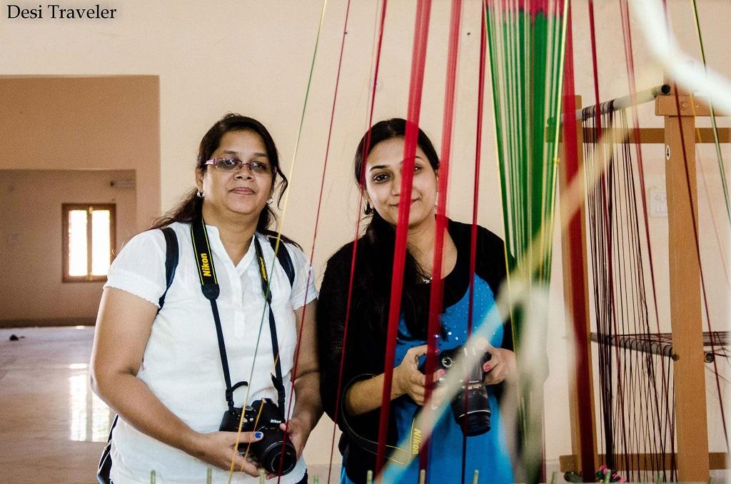 GHAC trip members in Pochampally Telangana