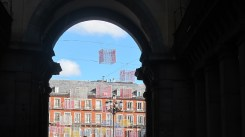 A view from Plaza Mayor, Madrid
