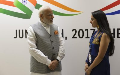 A brief encounter with Indian Prime Minister Modi