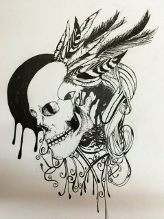 pen work by Kartik