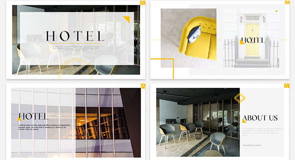 18 Nice Powerpoint Presentation Templates For Hotel