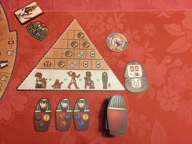 Pyramide du temps du jeu Pharaon
