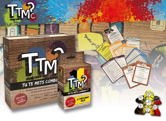 TTMC (Tu Te Mets Combien?) + Extension Belgique