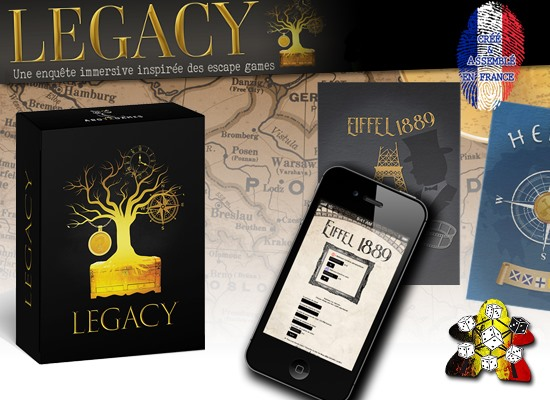 Legacy : Quest for a Family Treasure – Escape box