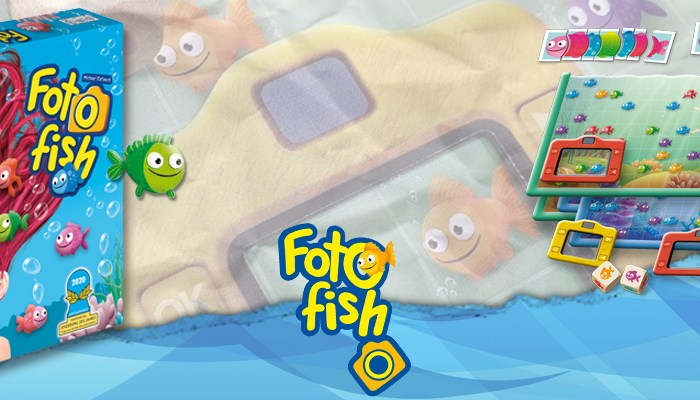 Foto fish, le jeu des petits explorateurs marins