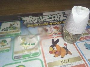 デスクマットが変質した原因は芳香剤の液体