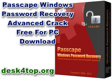 Passcape Windows Password Recovery Advanced With Crack Free Download[Latest]