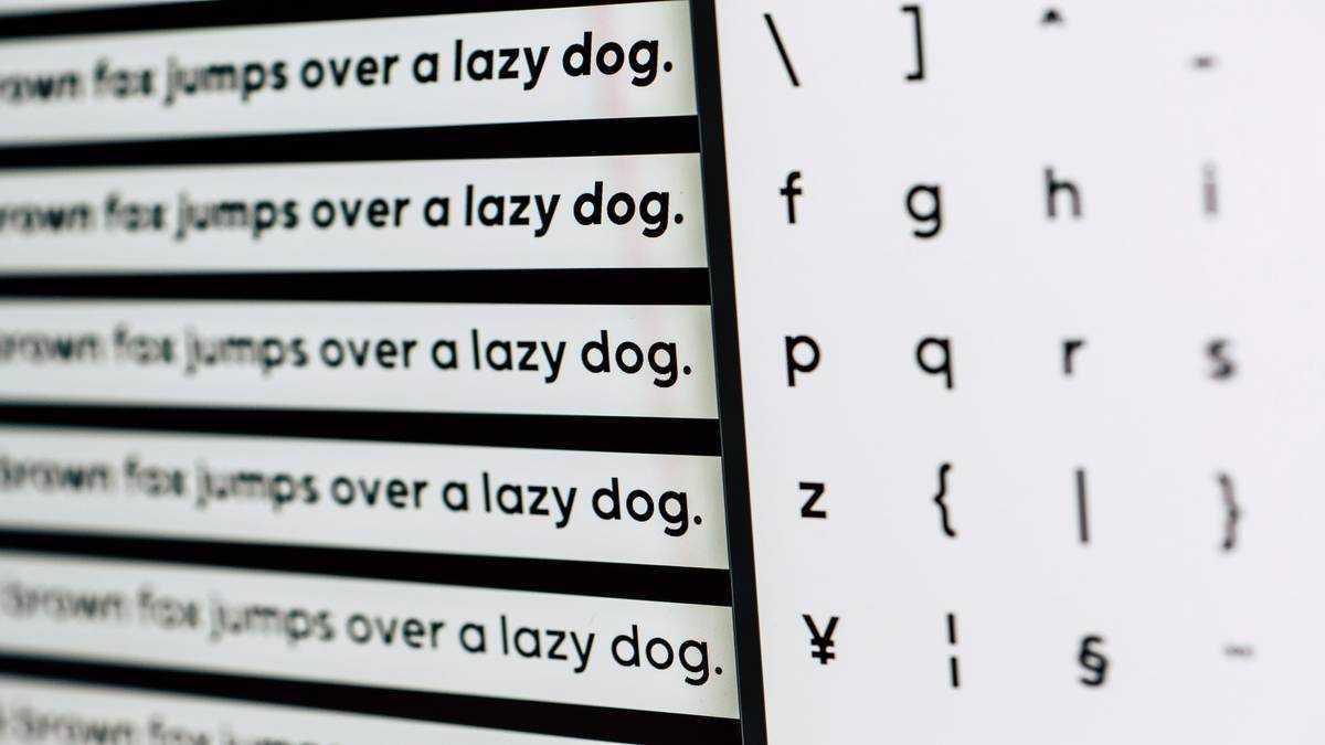 Legal Documents Fonts