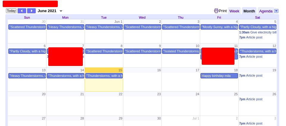 Google calendar embade in notion