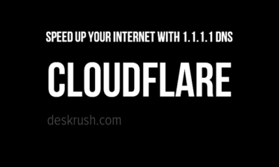 Speed up your internet with 1.1.1.1 DNS service today from cloudflare