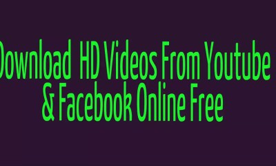 How to download videos from youtube & facebook online free