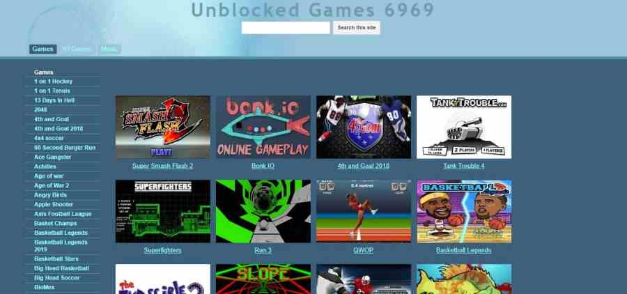 The Best Free Unblocked Games Sites You Can Play At School 2020