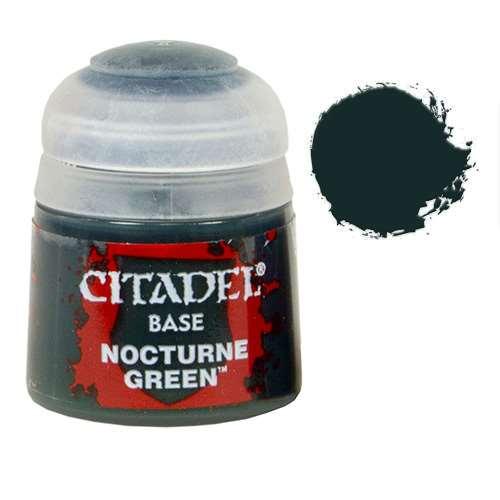 Краска Citadel Base: Nocturne Green купить по низкой цене ...