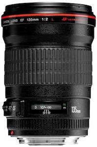 Canon 135L f/2 lens