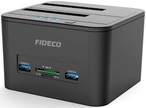 FIDECO dual HDD docking station YPZ04S2HC