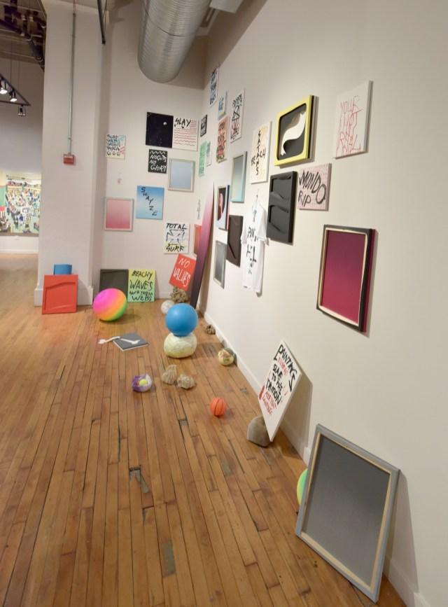 MFA 1 part 2 at Des Lee Gallery