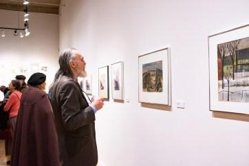 Robert C. Smith Retrospective Exhibit Opening, Des Lee Gallery, St. Louis, MO