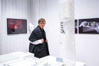 """Marilee Keys reviews work at the Opening Reception of the """"Decoys and Depictions: Images of the Digital"""" Exhibition at the Des Lee Gallery, Washington University, St. Louis, MO"""