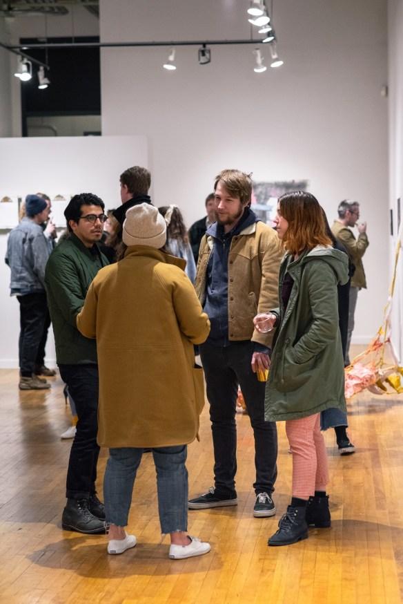 Parabola: Extraterrestrial Exhibit Opening, Des Lee Gallery, Washington University, St. Louis, MO