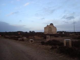 Radio Kootwijk van de achterkant