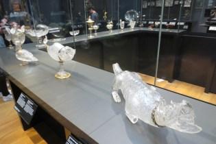 Grappige glazen objecten
