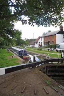 Kanaal nabij Northchurch (Hertfordshire) waar we een wandelroute gelopen hebben