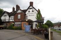 Pub in Wendover waar we gegeten hebben op onze 1 year anniversary . Ik had vega fish&chips. Best lekker!