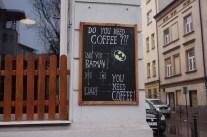 Batman of koffie?