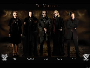 Photo de la famille Volturi (saga Twilight)