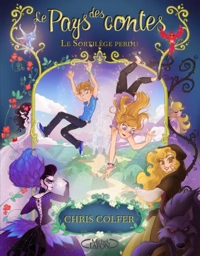 """Couverture du tome 1 de la saga """"Le pays des contes"""" de Chris Colfer"""